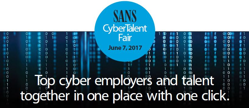 SANS CyberTalent Fair