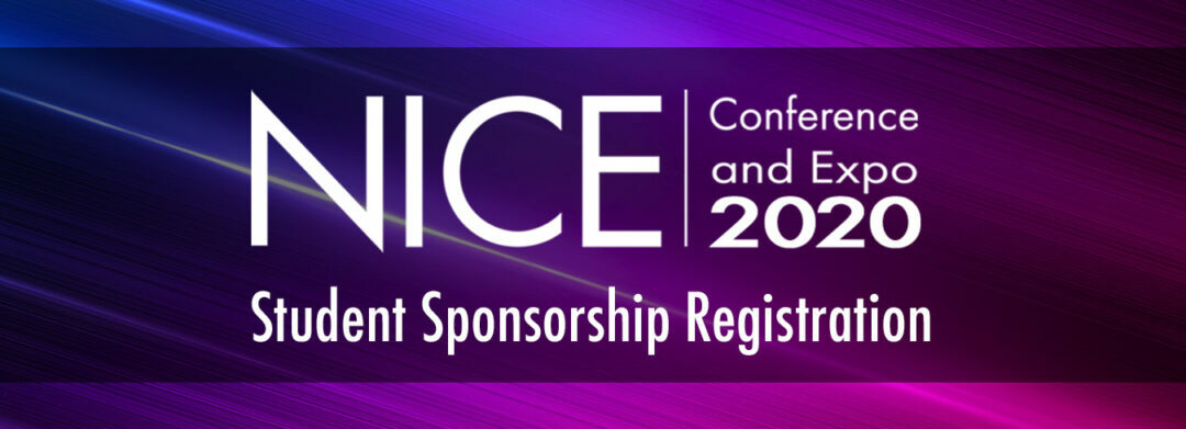 NICE 2020 Virtual Conference and Expo – FREE for Students!