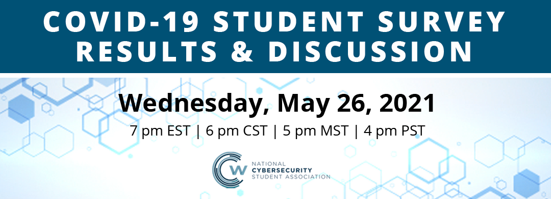 WEBCAST: COVID-19 Student Survey Results & Discussion