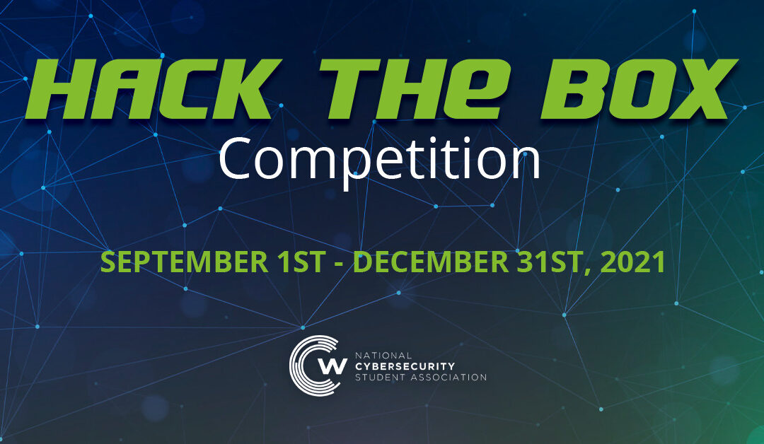 Hack the Box Competition – Fall 2021: September – December 31st, 2021